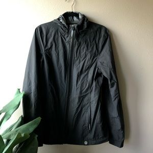 REI Co-op Black Rain Jacket Windbreaker